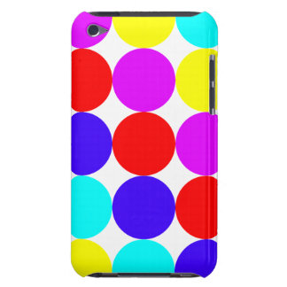 MULTI-DOTS (a polka dot design) ~ Barely There iPod Cases