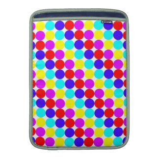 MULTI-DOTS (a polka dot design) ~ Sleeve For MacBook Air