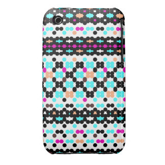 Multi Dots Obsession Pattern Case-Mate iPhone 3 Cases