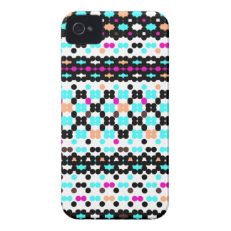Multi Dots Obsession Pattern Case-Mate iPhone 4 Case