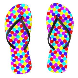 MULTI-DOTS ~.png Flip Flops