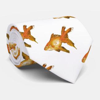 multi fancy goldfish tie