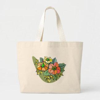 Multi Flower Bouquet Tote Bag