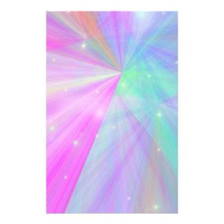 Multi hue stationary stationery paper