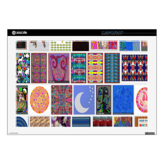 Multi image gifts abstracts cartoons patterns fun laptop decals