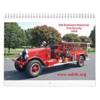 Multi-imágenes de ODHFS 2009 Calendarios De Pared