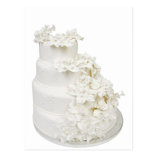 how to make a multi layered wedding cake multi layer wedding cake postcard zazzle 15823