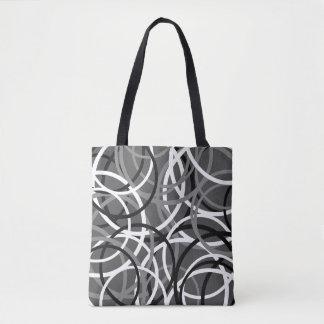 Multi Layered Circle Pattern Bag