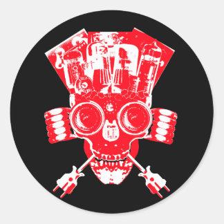Multi Media Momento Mori Sticker