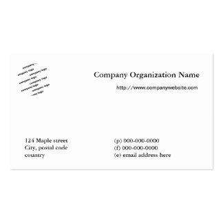 Multi name all purpose company logo business card