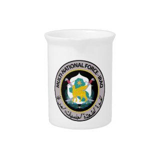 Multi National Force - Iraq Drink Pitchers