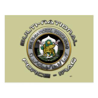 Multi-National Force – Iraq Postcard