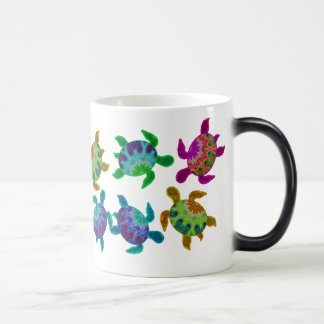 Multi Painted Turtles Mugs