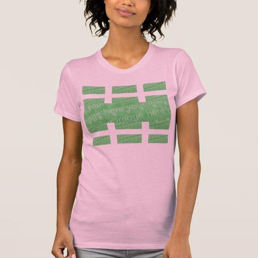 Multi-panel Design Effect Tshirts