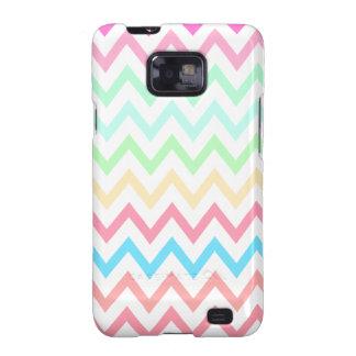 Multi Pastels Chevron Zig Zag Samsung Galaxy Case Samsung Galaxy S2 Cover