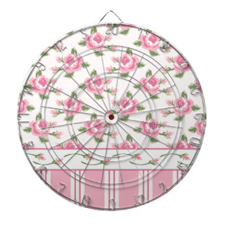 Multi pattern,floral,stripes,abstract,pink,white, dartboard