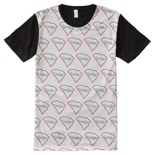 Multi-pattern Logo T-shirt