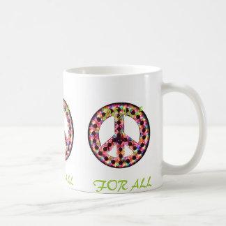 multi peace for all mug