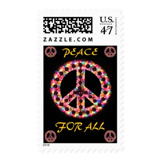 multi peace for all postage