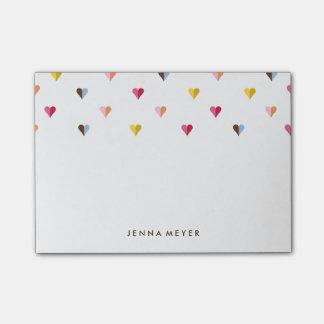Multi pequeño de los amores coloreada notas post-it®