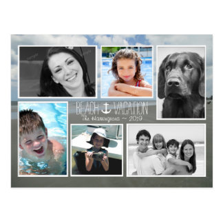 Multi-photo Vacation Pictures Holiday Postcard
