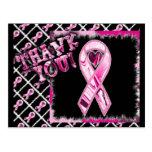 Multi Pink Ribbon Postcard