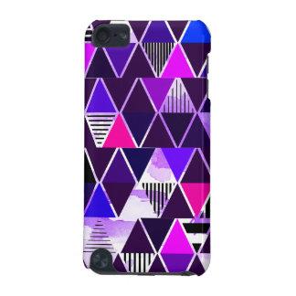 Multi Purple Triangular iPod Touch (5th Generation) Cover