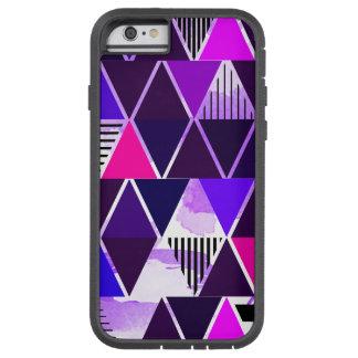 Multi Purple Triangular iPhone 6 Case