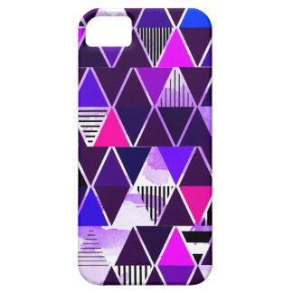 Multi Purple Triangular iPhone 5 Covers