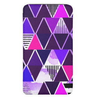 Multi Purple Triangular
