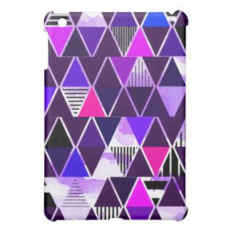 Multi Purple Triangular Case For The iPad Mini