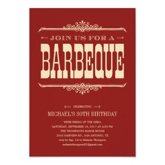 """Multi-Purpose Barbeque Party Invitations 5"""" X 7"""" Invitation Card"""