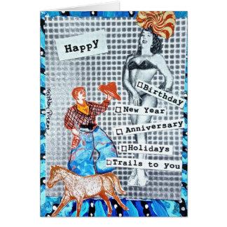 MULTI PURPOSE CARD BY BAD GIRL ART
