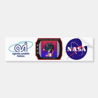 Multi Purpose Logistics Modules – MPLM Bumper Sticker