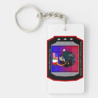 Multi Purpose Logistics Modules – MPLM Double-Sided Rectangular Acrylic Keychain