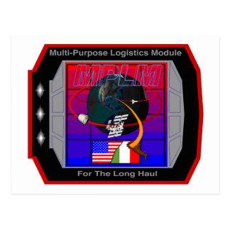 Multi Purpose Logistics Modules – MPLM Postcard