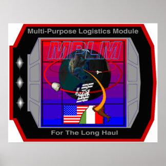 Multi Purpose Logistics Modules – MPLM Poster