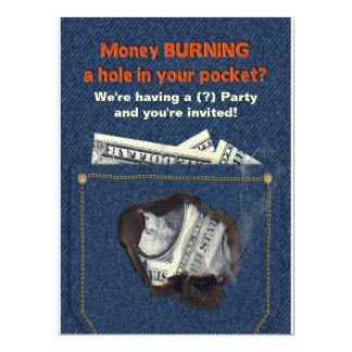 Multi-Purpose Product Party Invitation-Humor Card