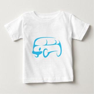 Multi Purpose Van in Swish Drawing Style Baby T-Shirt