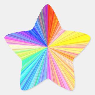 Multi Purpose Write-on n Decorative Paper Craft Star Sticker