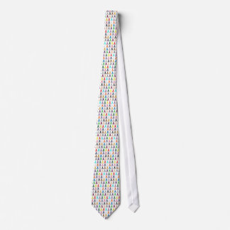 Multi-Ribbon Neck Tie