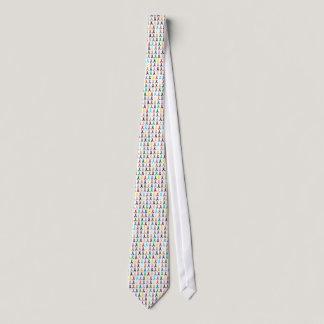 Multi-Ribbon Neck Tie