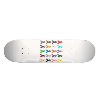 Multi-Ribbon Skate Board