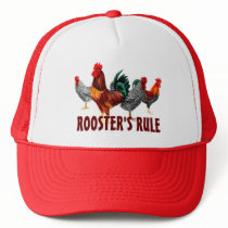 multi rooster design t shirts hats roosters rule
