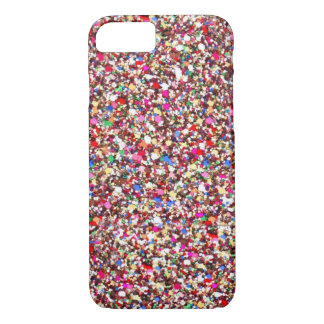 Multi Sequins Reds Sparkle Glitter Bling iPhone 7  iPhone 7 Case