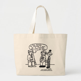 Multi-Sided Heads Tote Bag