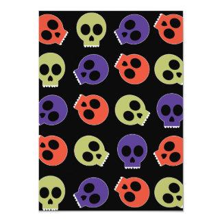 Multi Skulls Card