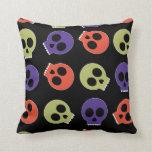 Multi Skulls Pillows