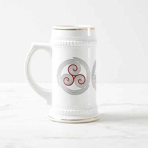 Multi Spiral - Stein #3 Coffee Mug