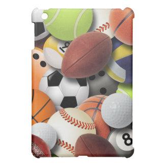 Multi-Sports Balls Collage  iPad Mini Cases